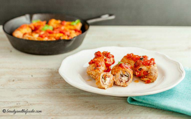 Italian Inspired Pork Rollatini