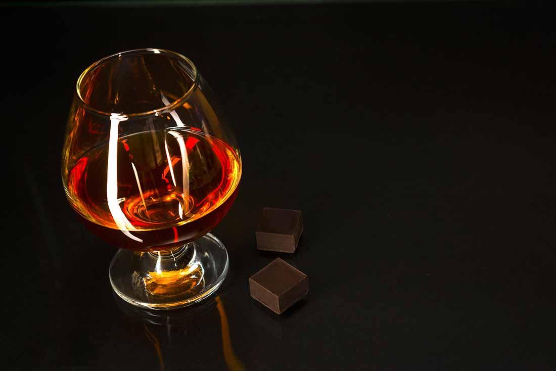 A Half-Full Glass of Brandy.