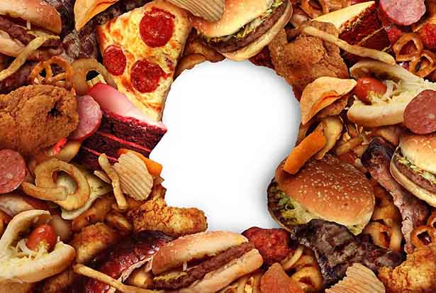 Various Ultra-Processed Foods.