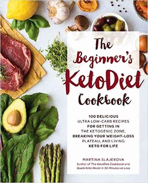 The Beginner's Keto Cookbook by Martina Slajerova.
