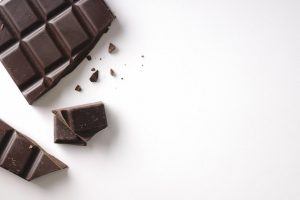 Picture of low carb dark chocolate bars,