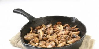 Picture of sauteed mushrooms