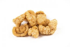 Picture of pork rinds, main image for article on the best oil for deep frying