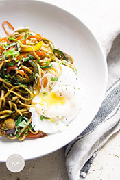 Picture of Simple Singapore Zoodles Recipe by Wild Orchard.