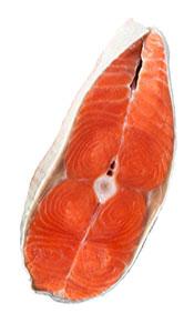 A Fillet of Wild Alaskan Sockeye Salmon.