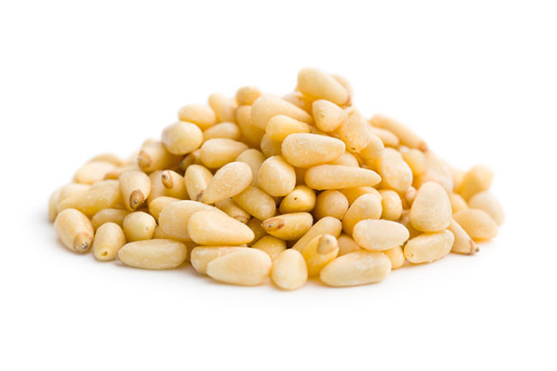 Picture of pine nuts.