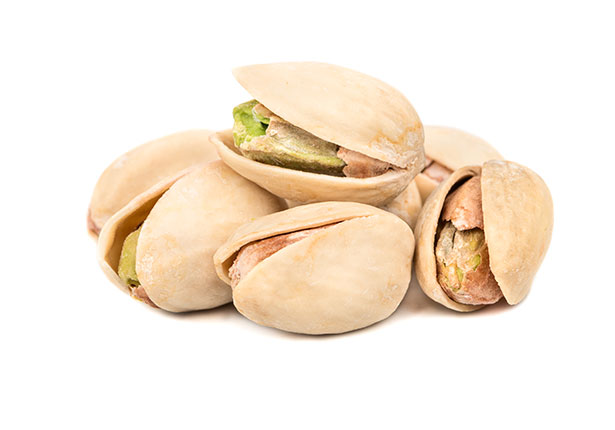 Picture of pistachio nuts.