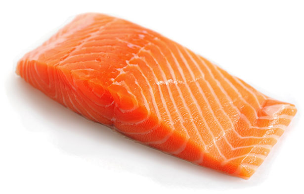 Picture of farmed atlantic salmon