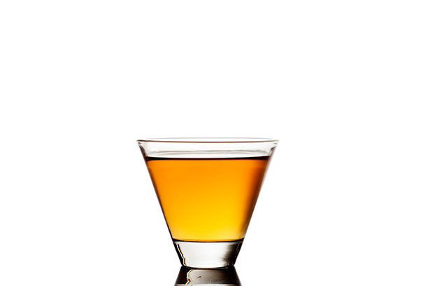 A Small Glass of Whiskey.