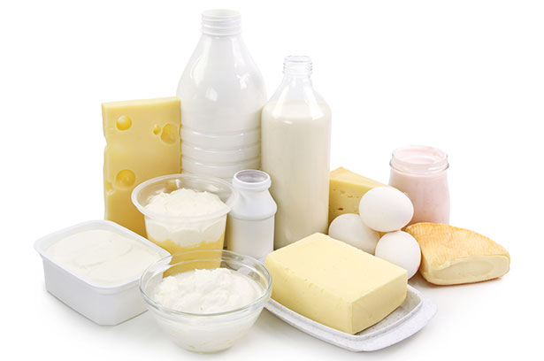 A Variety of Dairy Foods.