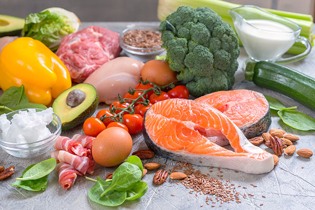 Picture of Some Healthy Foods to Emphasize to Reduce Inflammation