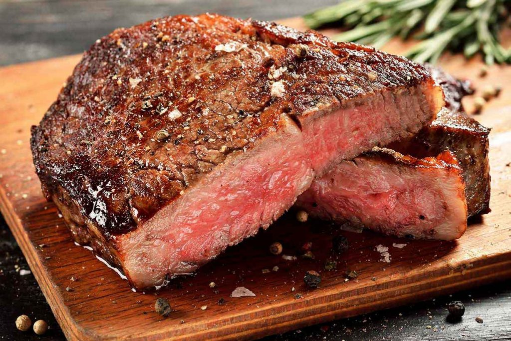 A Picture of Steak.