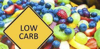 Picture showing low carb fruits and berries.