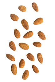 A Pile of Almonds.