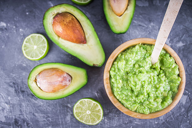 Picture of Lemon and Lime Guacamole.