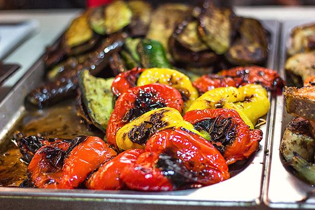 Grilled Veggies Side Dish.