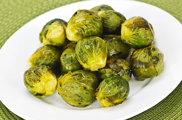 Picture of Oven-Roasted Sprouts in Butter and Salt.