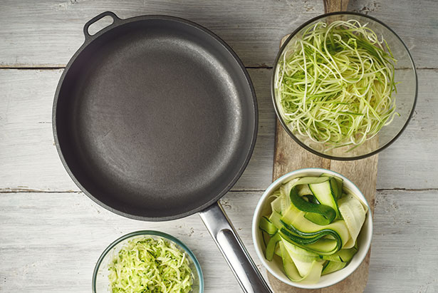 Picture of Zucchini Noodles (Zoodles).