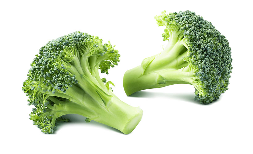 Picture of broccoli - there are vegan claims that it contains more protein than meat.