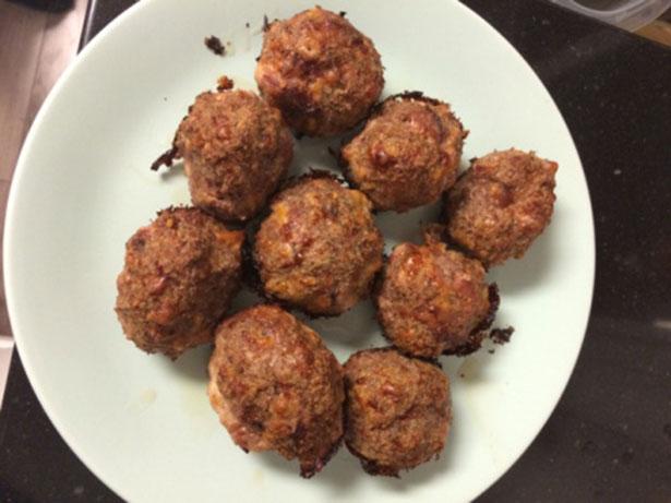 Low Carb Meat (loaf) Balls.