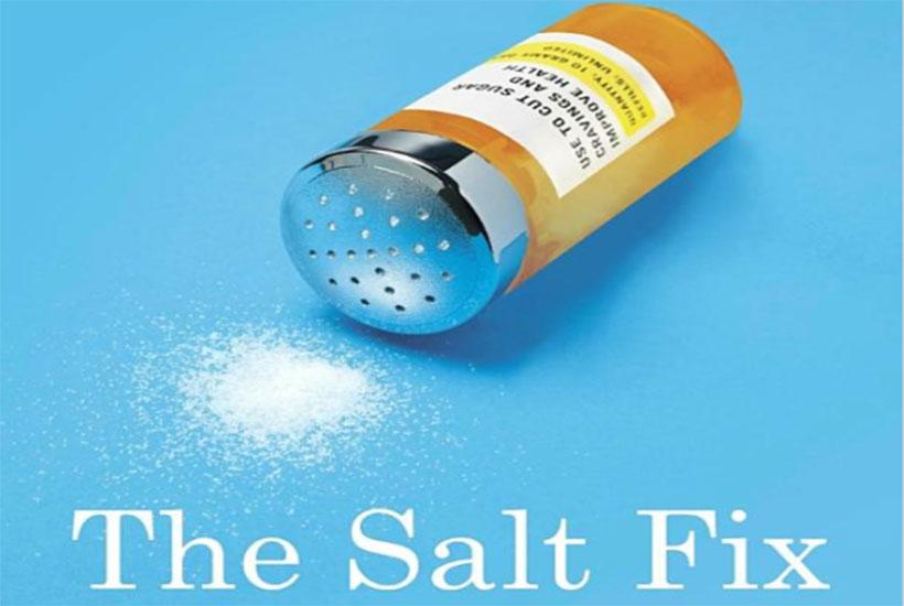 The Salt Fix book by Dr. James DiNicolantonio.
