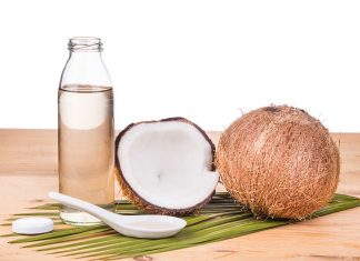 Fractionated Coconut Oil - Medium Chain Fatty Acids - in a Bottle.