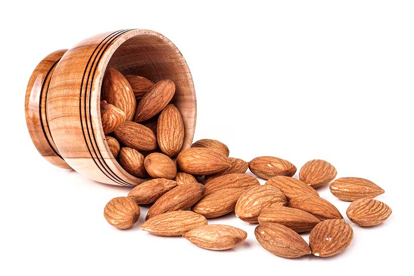 Almonds Are Nutrient-Dense and Full of Healthy Fats.