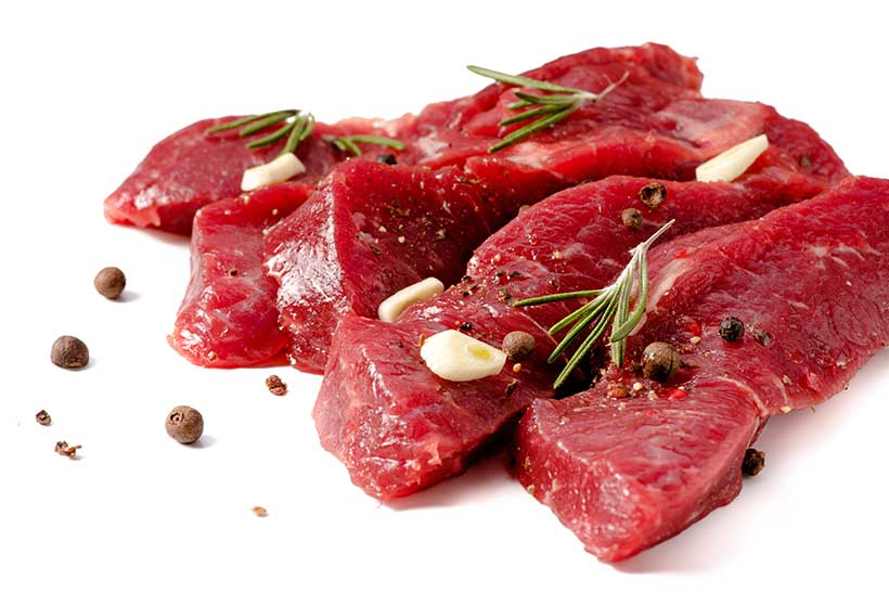 Beef is Full of Protein and a Good Source of Minerals.