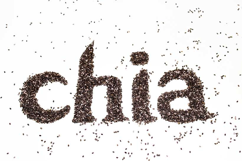 Nutritient Dense Foods Like Chia Seeds Contain Healthy Fats.