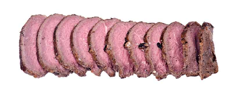 Picture of Sliced Roasted Beef.