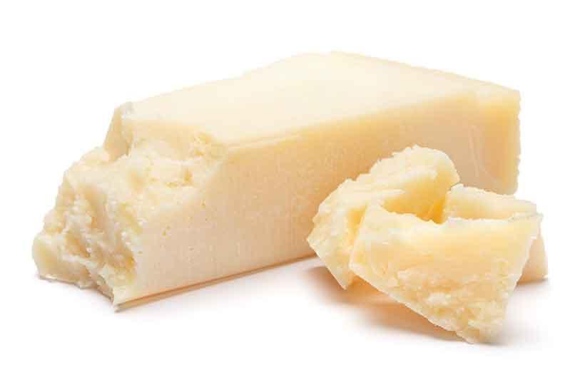 Aged Mature Italian Parmesan Cheese.