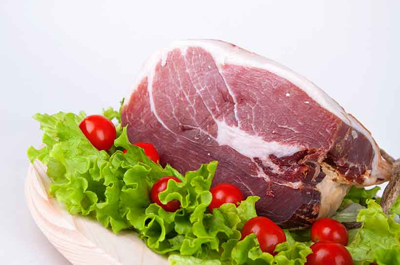 A Big Piece of Dry-Cured Meat: Italian Culatello.