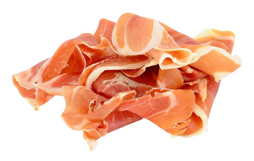 Lots of Slices of Prosciutto Meat.