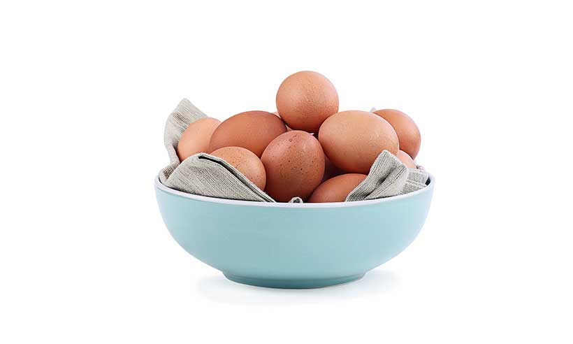 Numerous Eggs In a Bowl.