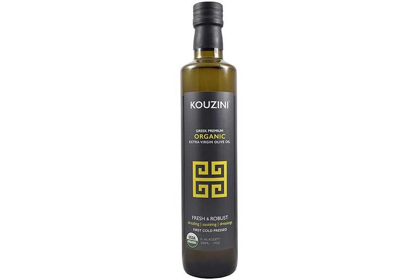 500ml Glass Bottle of Kouzini's Greek Extra Virgin Olive Oil.