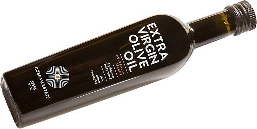 A Bottle of Cobram Estate's Extra Virgin Olive Oil.