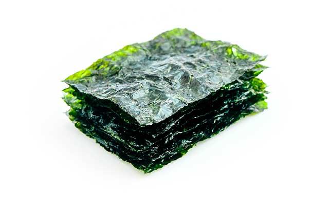 Dried Seaweed Nori Sheets.