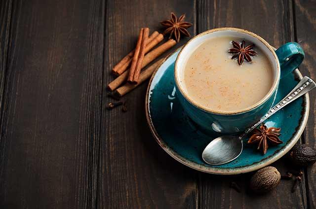 A Creamy and Spicy Black Tea.