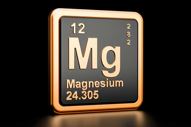 The Chemical Element For Magnesium.