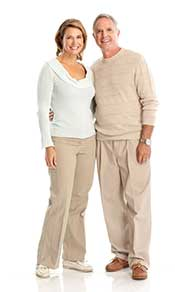 An Elderly Couple Looking Fit and Healthy.