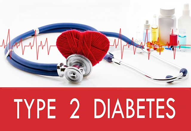 Medical Concept For Type 2 Diabetes.