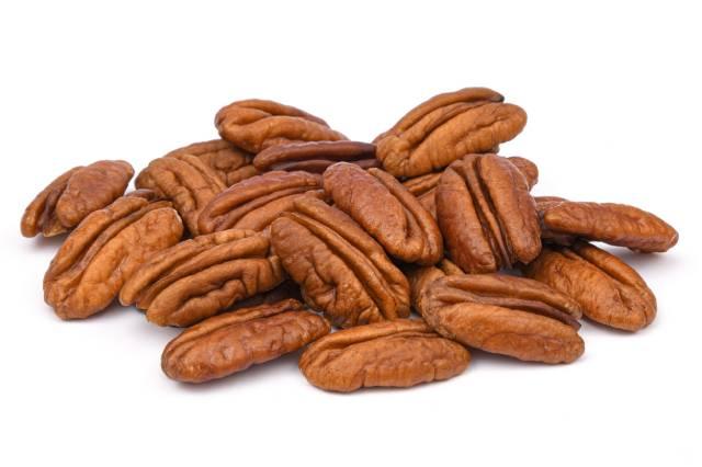 Pile of Pecan Nuts.