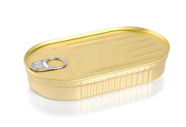 A Tin of Canned Kippers Unopened.