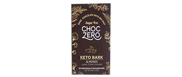 Choc Zero's Sugar-Free Keto Chocolate Bark.