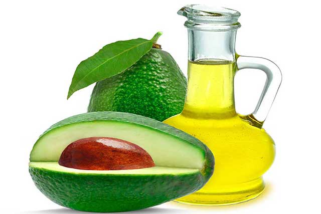 Avocado Cooking Oil In a Glass Jug.