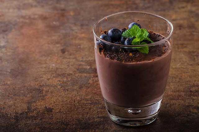 Chocolate Coconut Cream Mousse - a Sugar-Free Swerve Recipe.