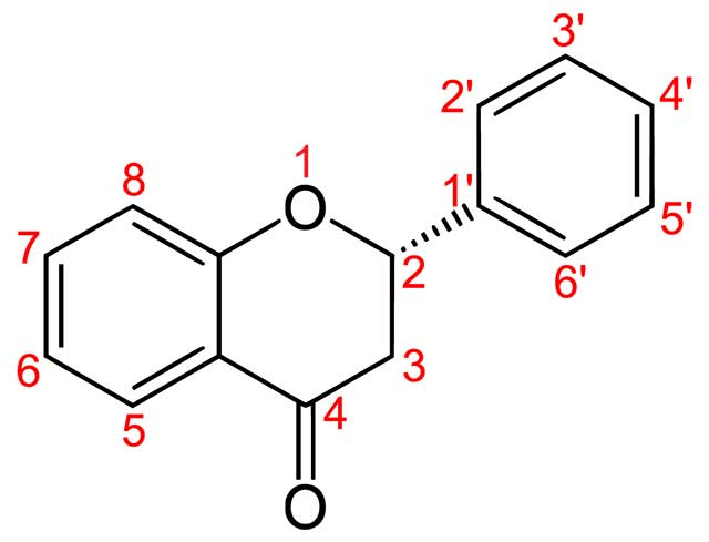The Structure of a Flavanone.