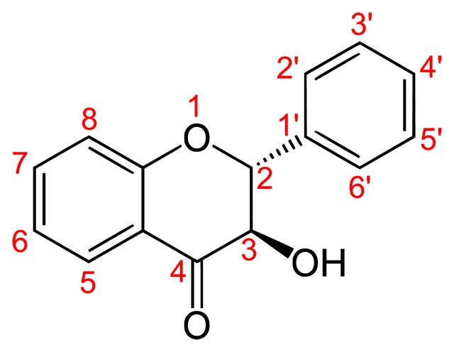 Structure of Flavanonols.