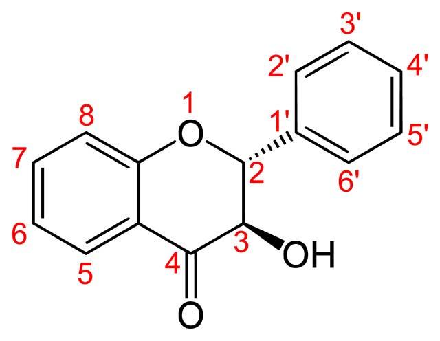 Structure of Flavanonols.