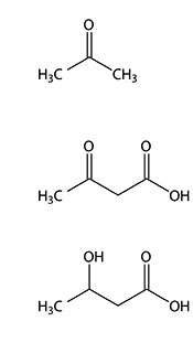 Ketosis Compounds - the Three Ketone Bodies.